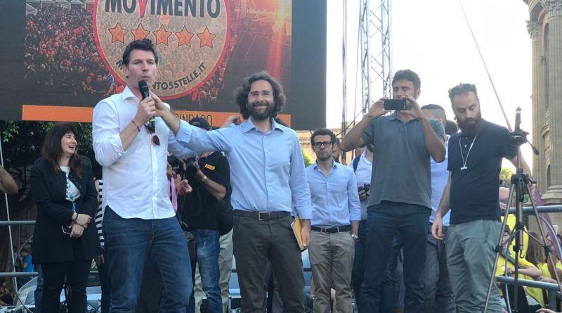 Alessandro Di Battista e Ugo Forello, il 4 giugno a Palermo
