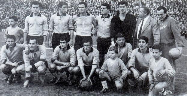 Palermo 1958-59 De Bellis con Vernazza