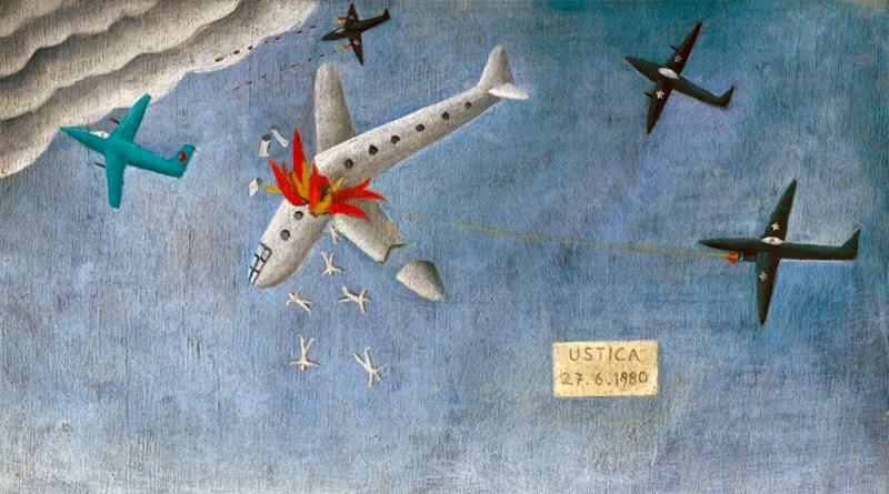 Strage di Ustica. Precipita il DC9 Itavia Bologna Palermo, colpito da un aereo da guerra