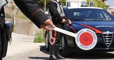 carabinieri feriscono ragazzo che non si era fermatoa posto di blocco