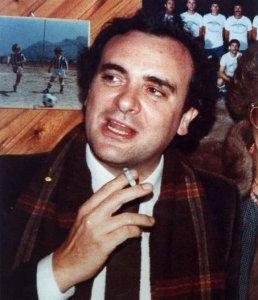 Il commissario Giuseppe Montana, capo della Sezione Catturandi della Squadra Mobile di Palermo