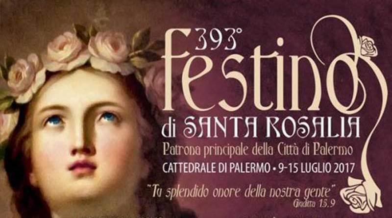 393esima edizione Festino di Santa Rosalia