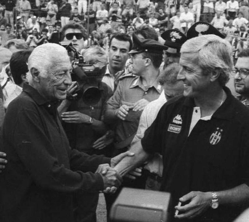 Gianni Agnelli e Marcello Lippi (1995)