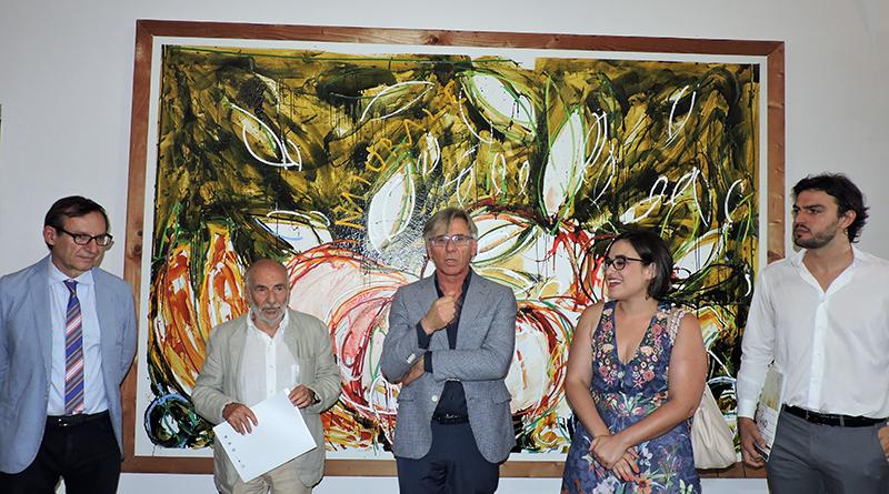 Mostra Mario Schifano , Museo Guttuso - Bagheria