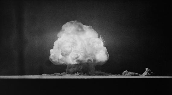 Il Trinity Test, la prima esplosione nucleare