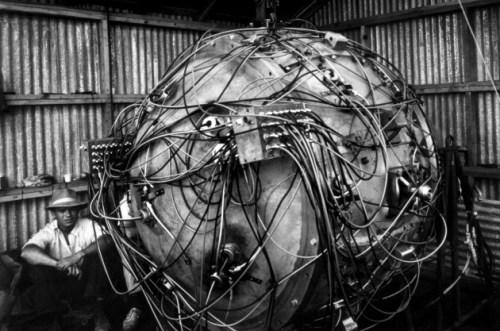 The Gadget, la prima bomba atomica, fatta esplodere nel Nuovo Messico
