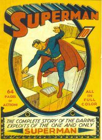 Il primo numero della testata Superman (1939)
