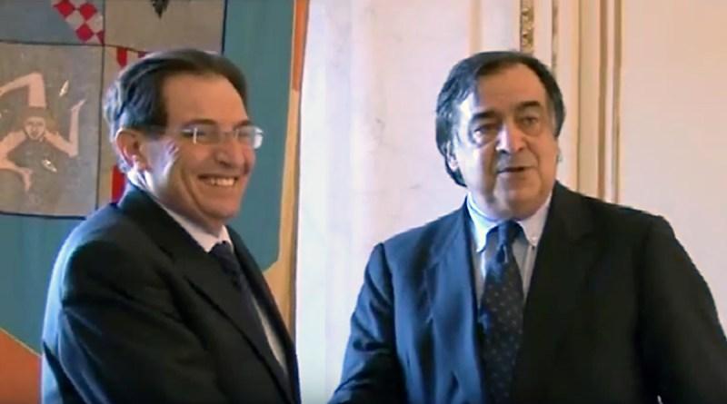 Rosario Crocetta e Leoluca Orlando