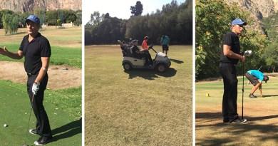 Michael Bolton, cantante statunitense, al Villa Airoldi Golf Club