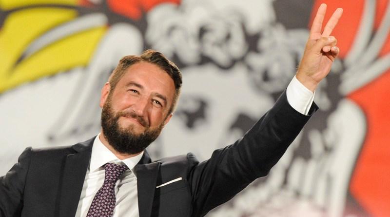 Giancarlo Cancelleri, sinistra