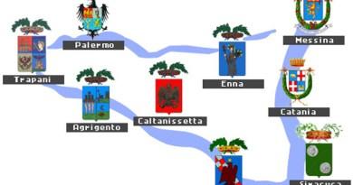 Le ex-province della Sicilia