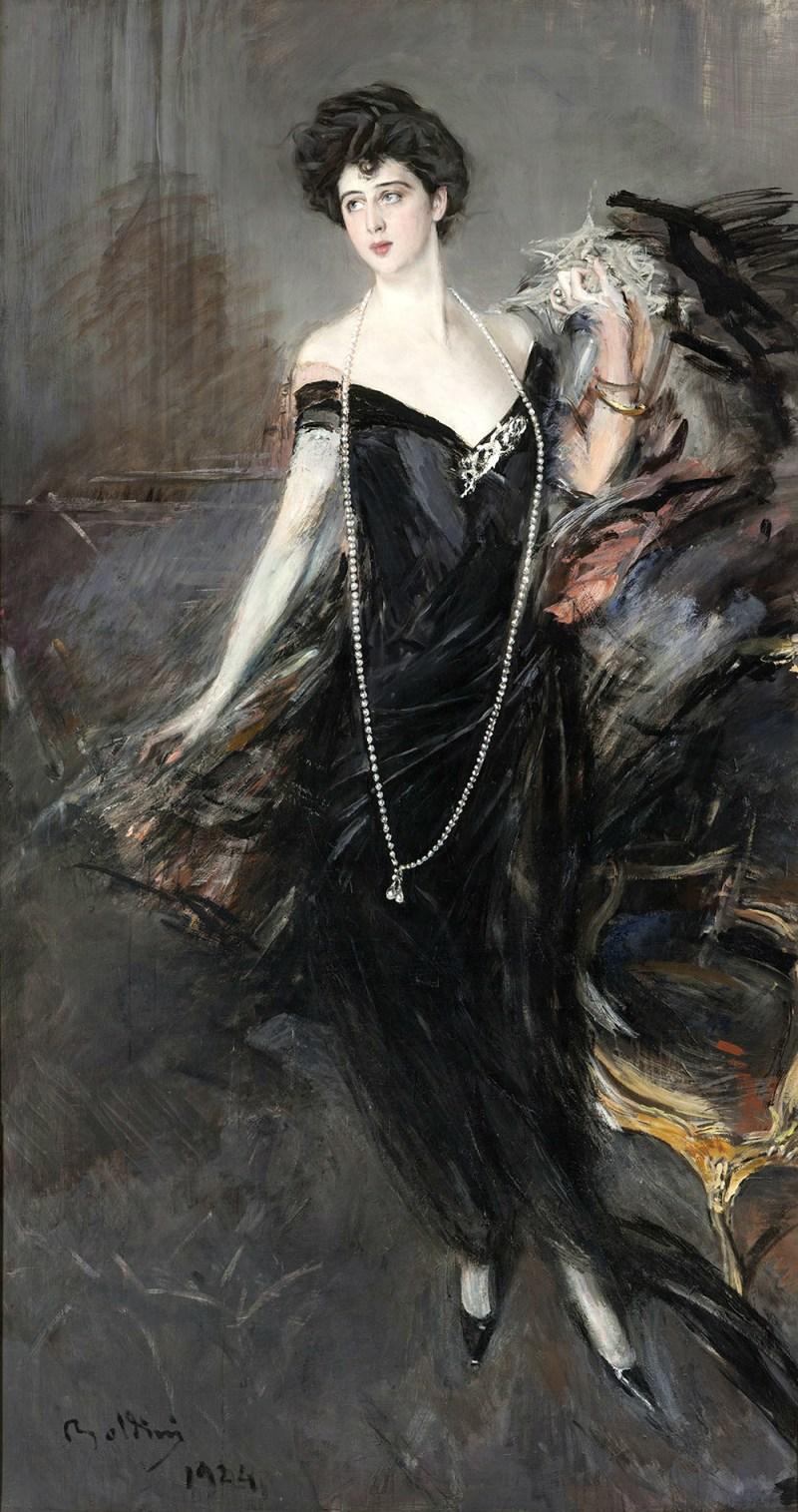 Donna Franca Florio, moglie di Ignazio Florio