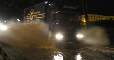 violento nubifragio colpisce Palermo