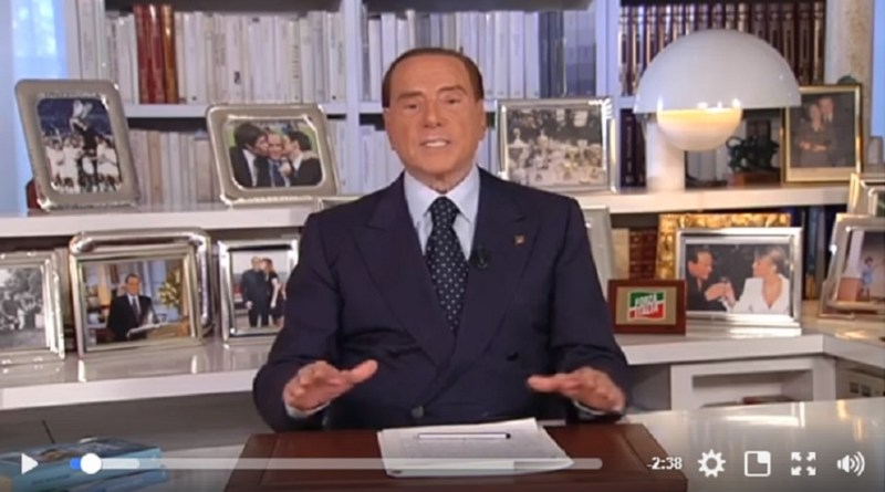 Berlusconi, appello ai siciliani senza nominare Musumeci