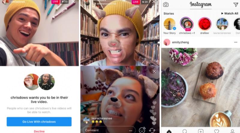 Instagram, dirette video per due persone