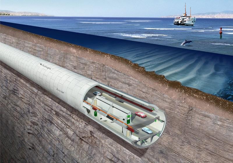 L'Eurasia Tunnel, sotto il fondo marino dello Stretto del Bosforo