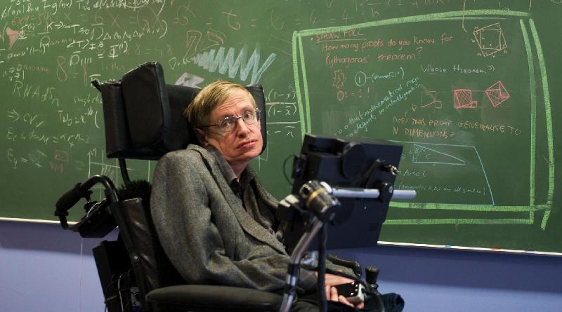 Online la tesi di laurea del fisico teorico Stephen Hawking