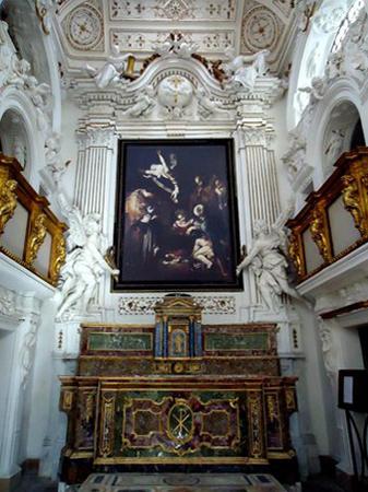 Altare oratorio di San Lorenzo a Palermo