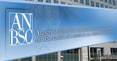 Agenzia Beni sequestrati confiscati alla criminalità