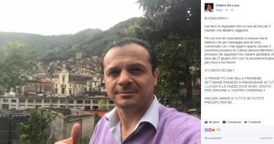 Cateno De Luca, Facebook, le ultime parole famose