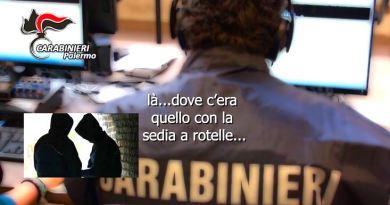 Carabinieri, rapine anziani ad Altavilla Milicia