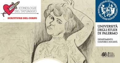 Iconologie del tatuaggio, convegno dell'Università degli studi di Palermo - Unipa