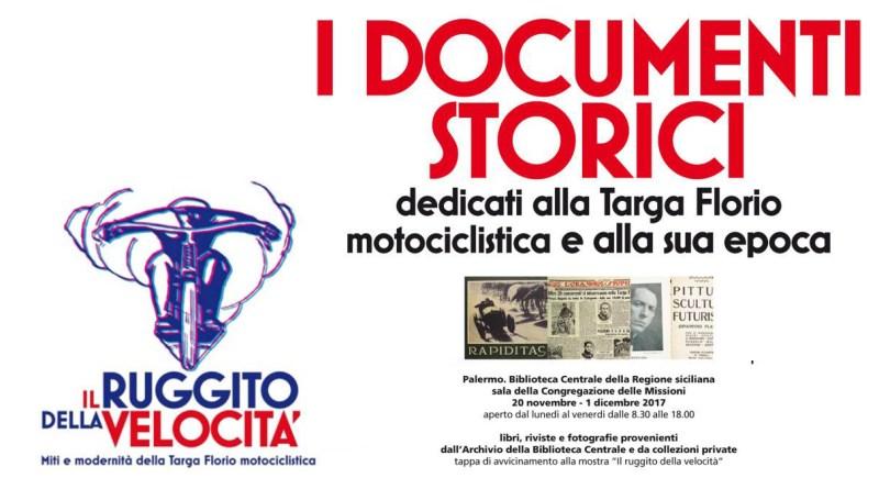 Mostra sui documenti storici della Targa Florio motociclistica