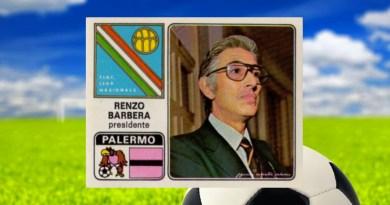 Renzo Barbera , presidente squadra di calcio Palermo