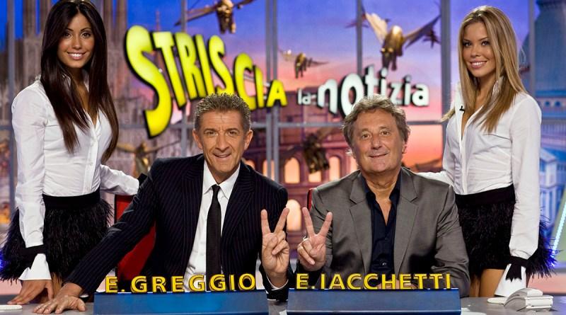 Striscia la notizia, con Greggio e Iacchetti