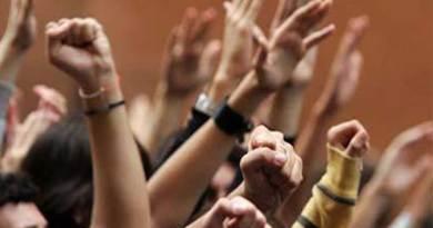 L'occupazione delle scuole Croce e Medi