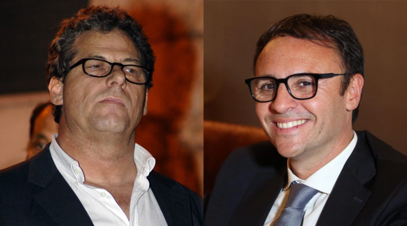 Gianfranco Miccichè e Vincenzo Figuccia