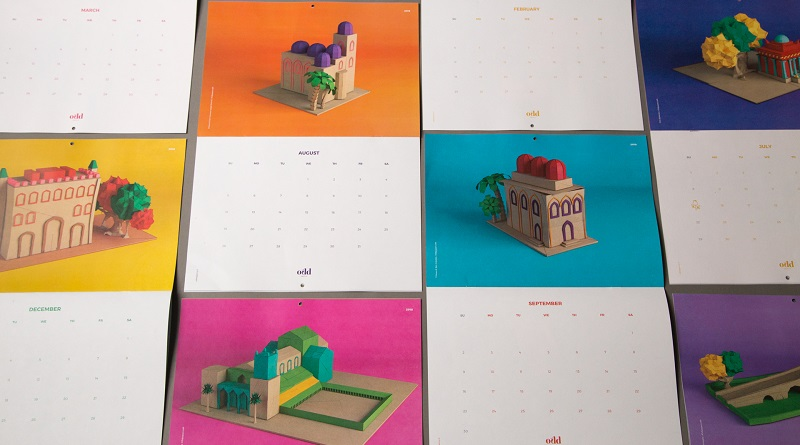 Un calendario realizzato dall'agenzia palermitana OddAgency con i monumenti Arabo Normanni di Palermo e provincia in versione Pop