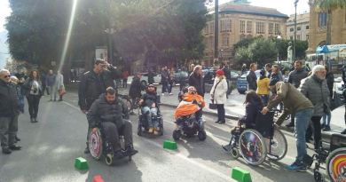 A Palermo il Carrozzina Day
