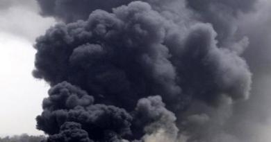Milazzo, incendio nella raffineria
