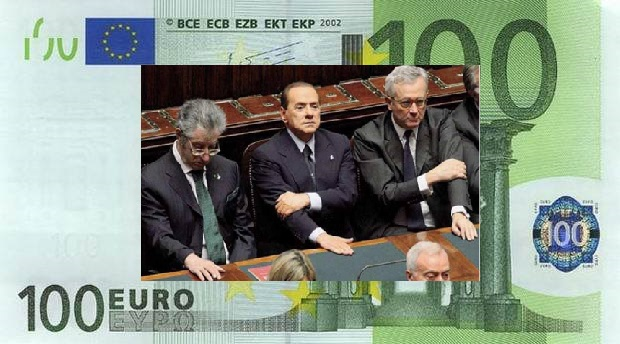 Berlusconi e l'euro