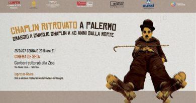 A Palermo tre giornate di proiezioni per ricordare Charlie Chaplin