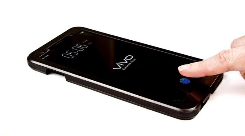 Vivo presenta il primo lettore d'impronte digitali sul display