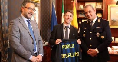 Borsellino, un maglia dell'Inter in regalo nel giorno del compleanno del giudice
