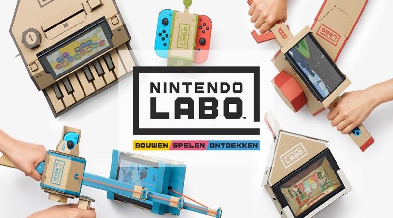 Nintendo LABO, i videogiochi fatti con il cartone