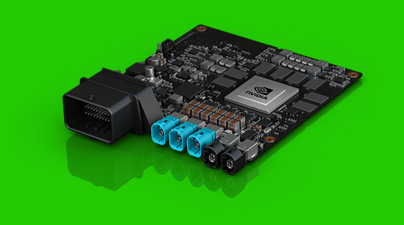 NVIDIA ha presentato al CES 2018 di Las Vegas Driver Xavier, un supercomputer in grado rendere autonoma la guida delle automobili