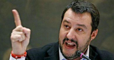 Matteo Salvini a palermo