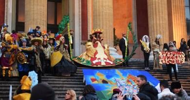 Domenica 11 febbraio si è tenuta la quarta edizione dell'Educarnival, una manifestazione a tema carnevale che ha coinvolto le scuole di Palermo e non solo