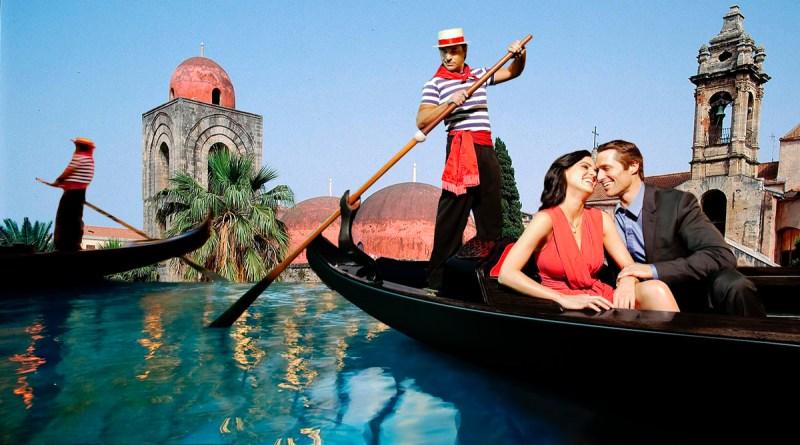 allagamenti: Palermo in gondola