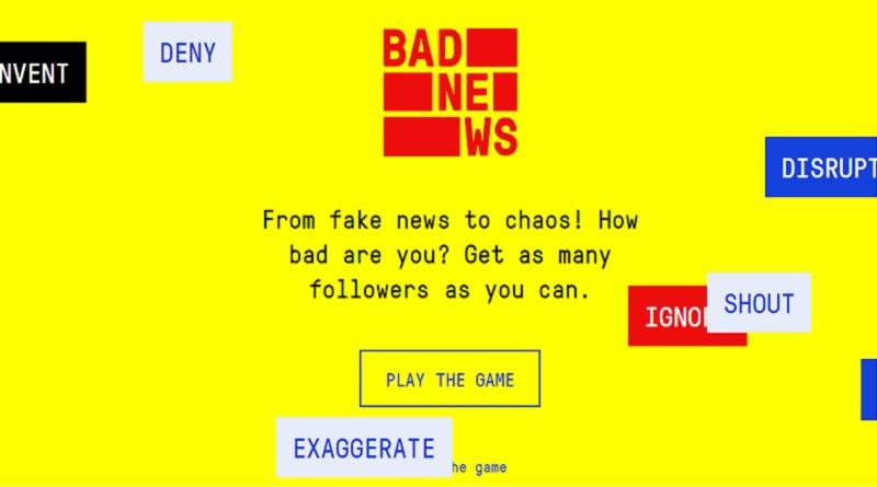 Arriva il videogioco che insegna a riconoscere le fake news