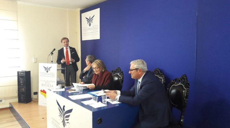 """Nasce Confimpresaitalia Sicilia. Il presidente nazionale Manganiello: """"Grande opportunità per le imprese siciliane"""""""