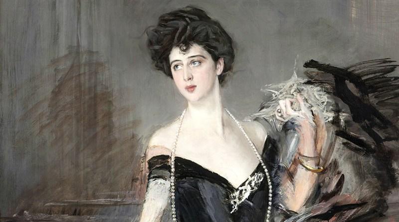 Ritratto di Donna Franca Florio Jacona di San Giuliano, di Giovanni Boldini