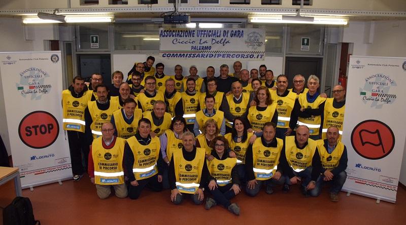 Gli ufficiali di gara dell'Asd Ciccio La Delfa, nel decennale dalla nascita dell'associazione, debuttano in Formula 1 al prossimo Gran Premio del Belgio