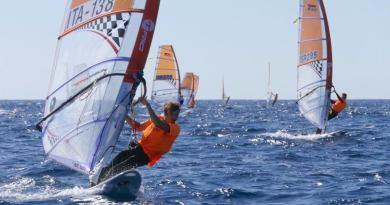 Tavole a vela, a Mondello tutto pronto per il campionato europeo Techno Plus
