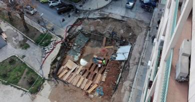 Necropoli medievale scoperta in via Guardione a Palermo
