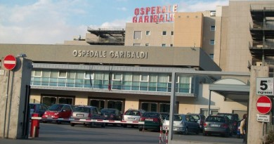 Ordigno ospedale Garibaldi Catania, paziente con tubercolosi multiresistente trasferito dal Garibaldi a Roma
